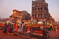 Indian City Royalty Free Stock Photography