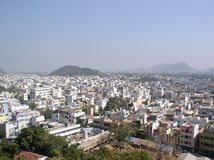 Indian city Royalty Free Stock Photo