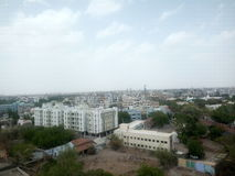 Indian city stock photography