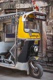 Indian city street at Jodhur, India. royalty free stock images
