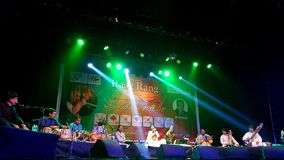 Indian classic concert Stock Image