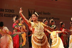 Indian Classical Dance expression Royalty Free Stock Images