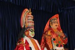 Indian Classical Dance pair Royalty Free Stock Photos
