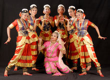 Indian Classical Dance Royalty Free Stock Photography