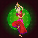 Indian Classical Dance Royalty Free Stock Photos