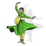 Indian Classical Dancer Royalty Free Stock Image