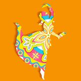 Indian classical Dancer Stock Image