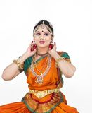 Indian classical female dancer Royalty Free Stock Photo