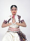 Indian classical female dancer Stock Photo