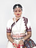 Indian classical female dancer Royalty Free Stock Photos