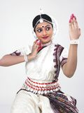 Indian classical female dancer Stock Images