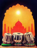 Indian classical music Royalty Free Stock Photography