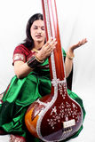 Indian Classical Singer Stock Images