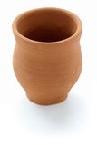 Indian clay cup Royalty Free Stock Image