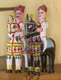 Clay Horse. Indian Clay Horse also say mamaji ghoda Royalty Free Stock Photos