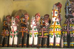 Clay Horse. Indian Clay Horse or mamaji ghoda royalty free stock images