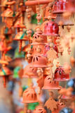 Indian clay made handicrafts Royalty Free Stock Photo