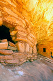 Indian cliff dwellings Stock Image