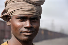 Indian Coal Worker Stock Images