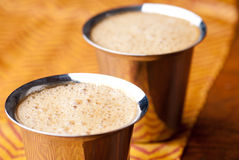 Indian coffee background Royalty Free Stock Image
