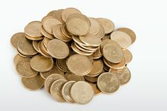 Indian coin collection Stock Images