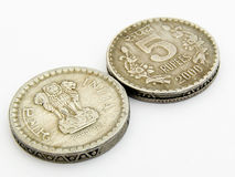 Indian Coins Stock Photos