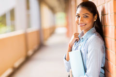 Indian College Student Royalty Free Stock Photo