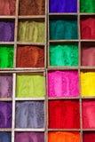 Indian color powder Royalty Free Stock Photos