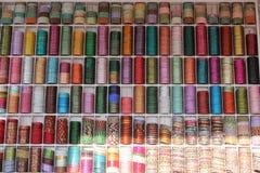 Indian colorful bracelets. Royalty Free Stock Image