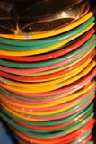 Indian colorful bracelets Royalty Free Stock Photography