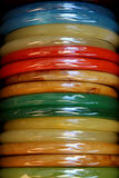 Indian colorful bracelets Royalty Free Stock Images