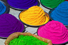 Indian colorful powder Stock Images