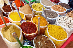 Indian colorful spices Stock Images