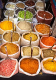 Indian colorful spices Stock Photo