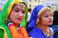 Indian colour Stock Image