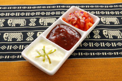 Indian Condiments Royalty Free Stock Photos
