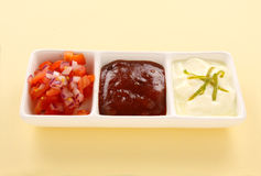 Indian Condiments Royalty Free Stock Photography