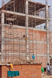 Indian Construction Site Stock Images