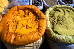 Indian Cooking Spices Royalty Free Stock Images
