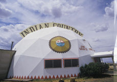 Indian Country domed tourist shop Royalty Free Stock Photo