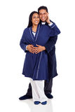 Indian couple embracing Royalty Free Stock Photo