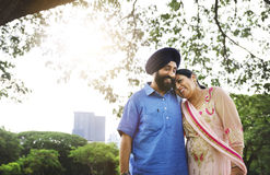 Indian Couple Love Care Concept Royalty Free Stock Photos