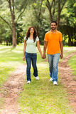 Indian couple outdoors Stock Photos