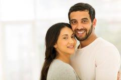 Indian couple portrait Royalty Free Stock Photos