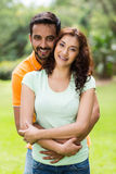 Indian couple summer Stock Photo