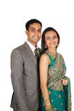 Indian couple in traditional wear. Stock Photo