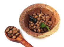 Indian cow pea snack Royalty Free Stock Image