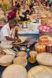 Indian craftsmen at work Royalty Free Stock Photo