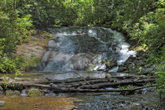 Indian Creek Falls in North Carolina Stock Images