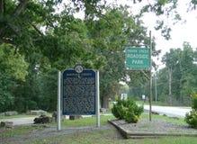 Indian Creek Roadside Park, Lanagan, MO Royalty Free Stock Images